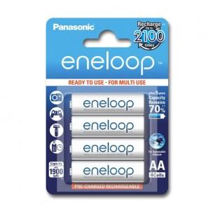 Panasonic eneloop AA (4 kosi)