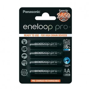 Panasonic eneloop Pro AA (4 kosi)