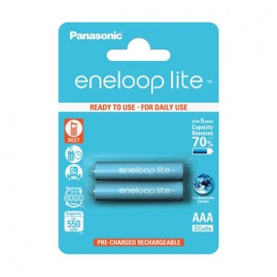 Panasonic eneloop Lite AAA (2 kosa)