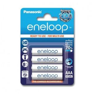 Panasonic eneloop AAA (4 kosi)
