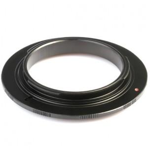 Reverse macro adapter Nikon 52 mm