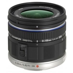 Olympus objektiv 9-18 mm f/4,0-5,6 ED M.Zuiko + BONUS 100 EUR