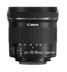 Canon objektiv EF-S 10-18mm f/4.5–5.6 IS STM + Lenspen