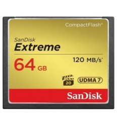 Sandisk CF 64 GB Extreme (120MB/s)