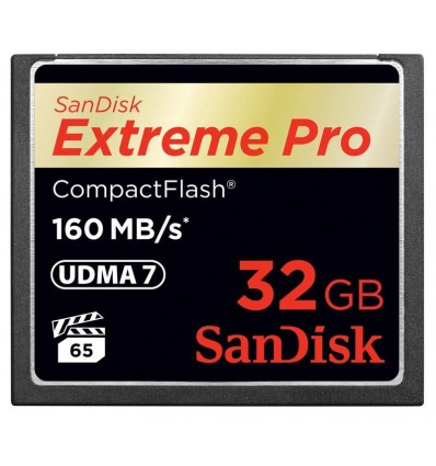 Sandisk CF 32 GB Extreme PRO (160MB/s)