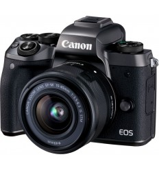 Canon EOS M5 + 15-45 (KIT) + EF adapter