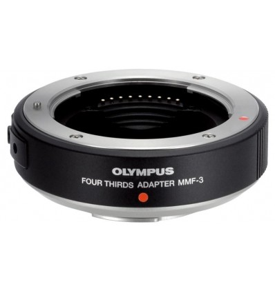 Olympus MMF-3 (4/3-m4/3) adapter