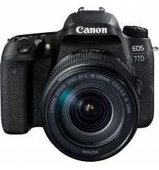 Canon EOS 77D + 18-135 IS USM (KIT)