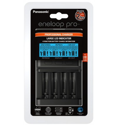 Panasonic Eneloop Quick Charger (z LCD)