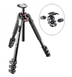 Manfrotto stativ 190XPRO4 + 3way glava (MHXPRO-3W)