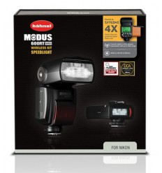 Hahnel bliskavica Modus 600RT Wireless KIT (Nikon)