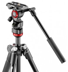 Manfrotto BeFree Live (video) z glavo