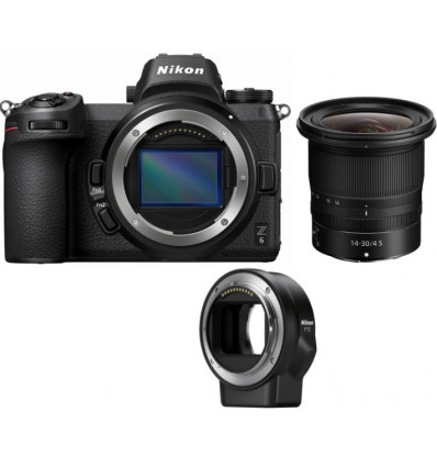 Nikon Z6 + 14-30/4 + bajonet adapter FTZ (KIT)