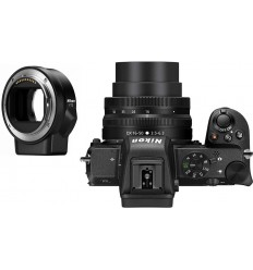 Nikon Z50 + DX 16-50 VR + FTZ adapter (KIT)
