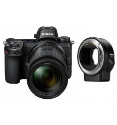 Nikon Z7 + 24-70mm F/4 + FTZ adapter (KIT)