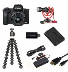 Canon EOS M50 II + 15-45 IS STM (Live Streaming KIT)