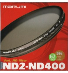 Marumi Vari ND2-ND400 filter, 67 mm