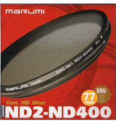 Marumi Vari ND2-ND400 filter, 77 mm