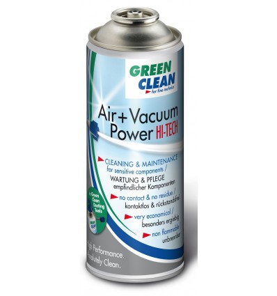 Green Clean Air + Vacuum Power Hi Tech, 400 ml