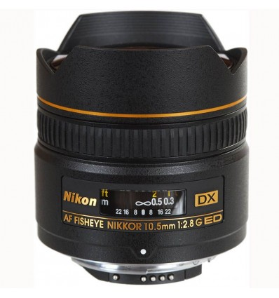 Nikon objektiv AF DX 10,5 mm F/2,8 G Fish-Eye