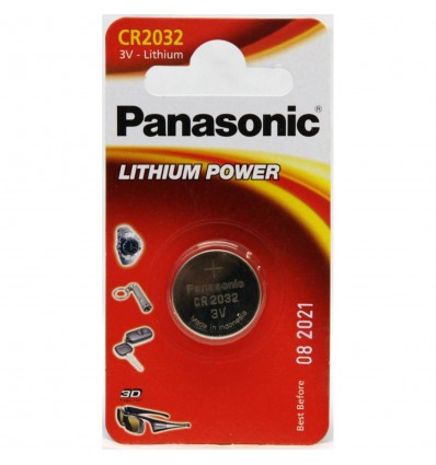 Panasonic baterija CR2032