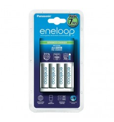 Panasonic eneloop Advanced Charger + 4x AA